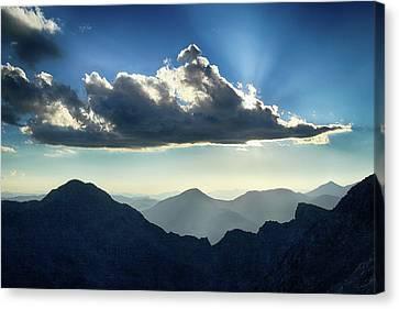Afternoon Sunburst Canvas Print
