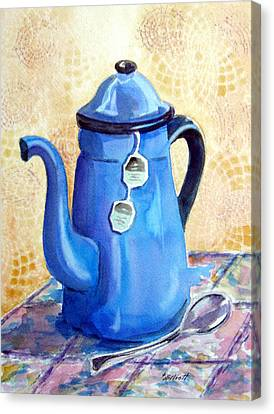 Afternoon Tea Canvas Print by Marsha Elliott