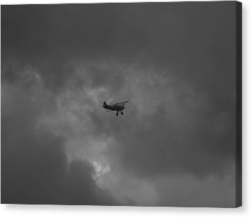 Canvas Print featuring the photograph Against The Sky by Joshua House