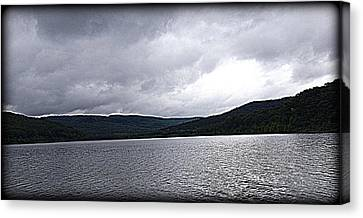Against The Sky Canvas Print by Lesli Sherwin