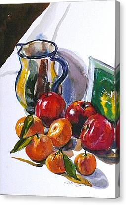 Againt The Light Canvas Print by Doranne Alden