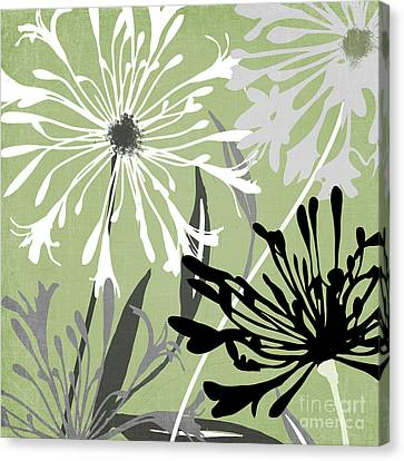 Agapanthus Canvas Print - Agapanthus by Mindy Sommers