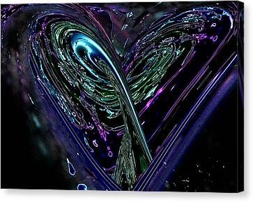 Agape  Canvas Print by Another Dimension Art