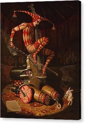 Agaric Flying Dutchman Canvas Print by Adrian Borda