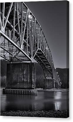 Agassiz-rosedale Bridge Canvas Print