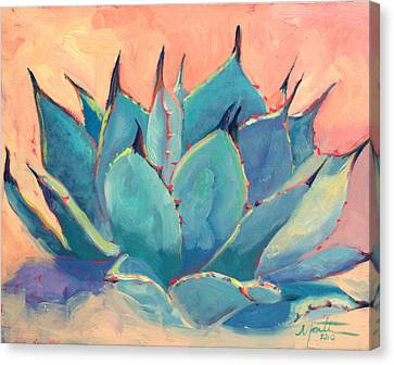 Agave 2 Canvas Print by Athena  Mantle