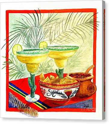 Agave Amigos Canvas Print by Marilyn Smith