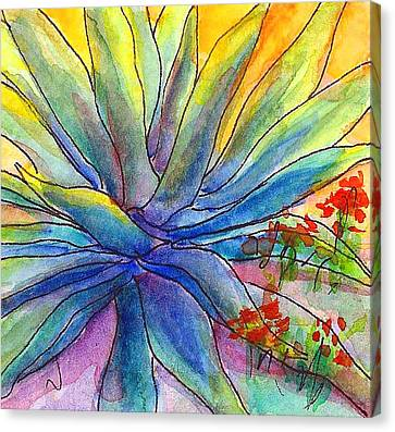 Agave Squared Canvas Print