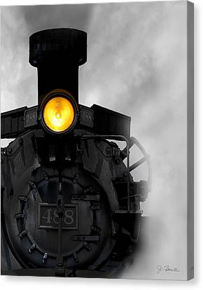 Age Of Steam No. 2 Canvas Print by Joe Bonita