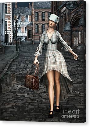 Ageless Fashion Canvas Print by Jutta Maria Pusl