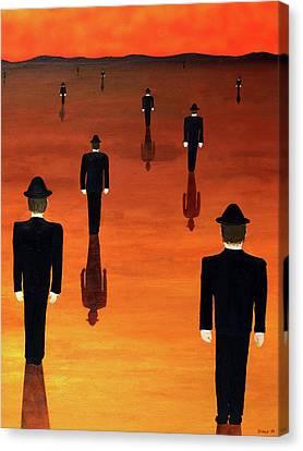 Agents Orange Canvas Print