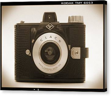 Agfa Clack Camera Canvas Print by Mike McGlothlen