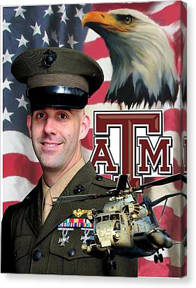 Aggie Major Canvas Print