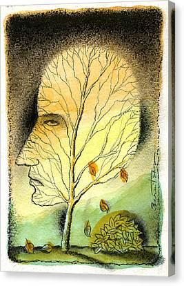 Aging Canvas Print by Leon Zernitsky