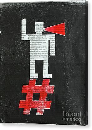 Agitator Canvas Print