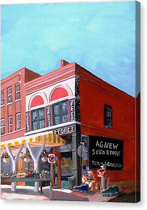 Agnew Feed And Seed  Canvas Print by Todd Bandy