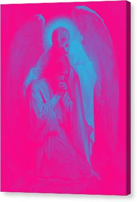 Agony In The Garden By Frans Schwartz, 1898 1 Canvas Print by Celestial Images