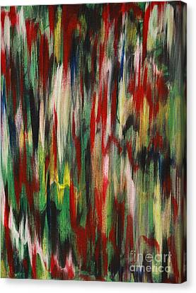 Canvas Print featuring the painting Agony by Jacqueline Athmann