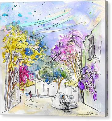 Agua Amarga 12 Canvas Print by Miki De Goodaboom