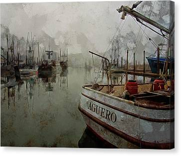Aguero Canvas Print