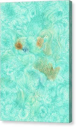 Ah, - #ss16dw011 Canvas Print by Satomi Sugimoto