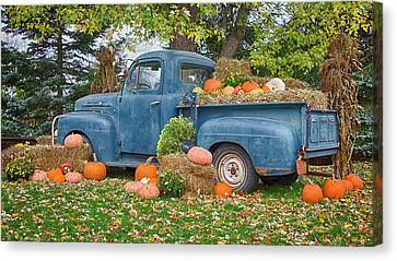 Ahh, Autumn Canvas Print by Guy Whiteley