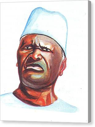 Ahmed Sekou Toure Canvas Print