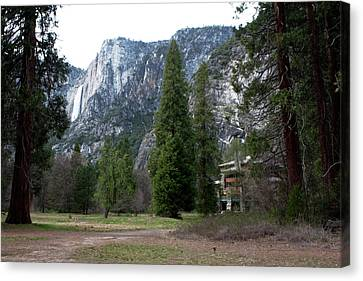 Ahwahnee Setting Canvas Print