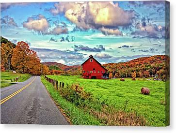 Ah...west Virginia Canvas Print by Steve Harrington