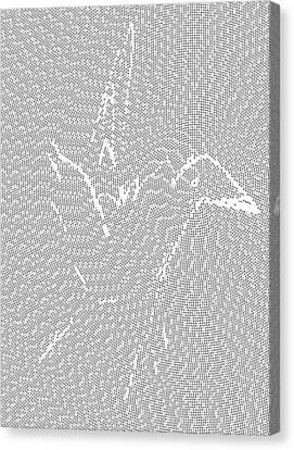 Aibird Canvas Print