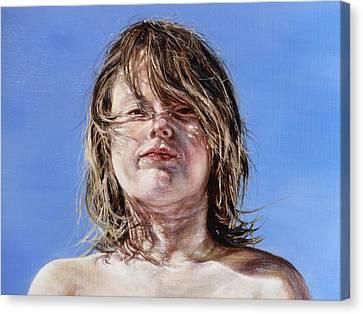 Aidan Canvas Print by Adrienne Martino