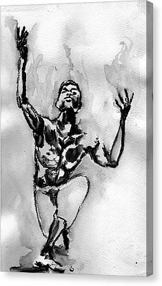 Ailey Canvas Print by Howard Barry