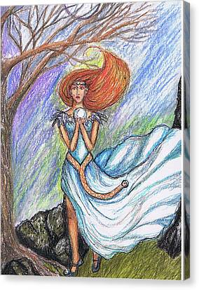 Aiofe Canvas Print