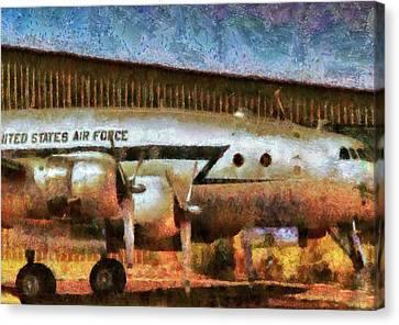 Air - United States Air Force Canvas Print by Mike Savad