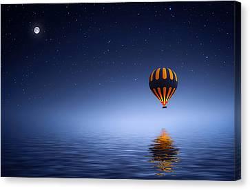 Air Ballon Canvas Print