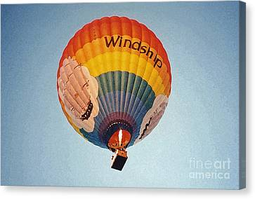 Air Balloon Canvas Print by Sonya Chalmers