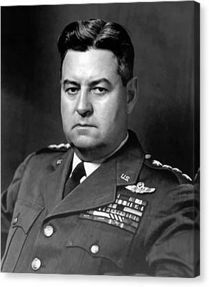 Vietnam Canvas Print - Air Force General Curtis Lemay  by War Is Hell Store