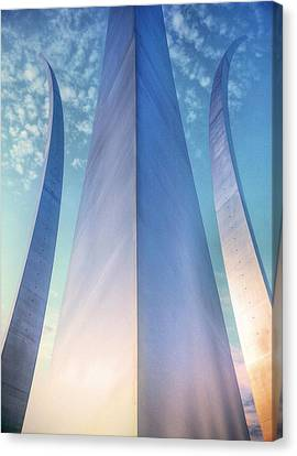 Air Force Memorial Canvas Print by JC Findley
