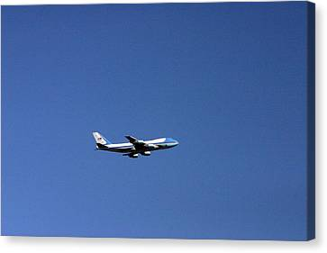 Air Force One Canvas Print