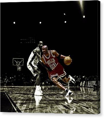 Air Jordan Shake Canvas Print