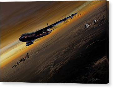 Air Power Legends Canvas Print by Peter Chilelli