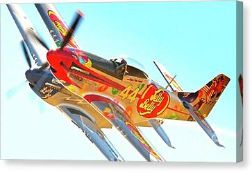 Air Racing Reno Style Canvas Print