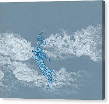 Air Spirit 11 Canvas Print by Alma
