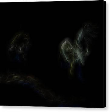 Air Spirits 7 Canvas Print by William Horden