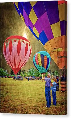 Air Time Canvas Print