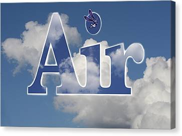 Air Title Canvas Print by Alma