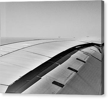 Airbus A380 Wing - Abstract  Canvas Print