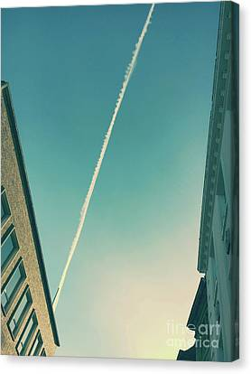 Airoplane Canvas Print - Aircraft Smoke by Tom Gowanlock