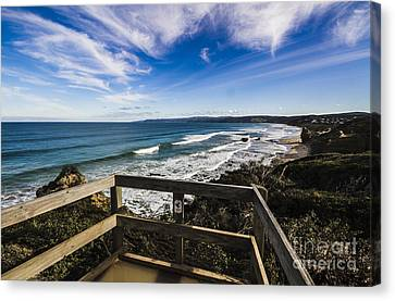 Aireys Inlet Lookout Canvas Print by Jorgo Photography - Wall Art Gallery