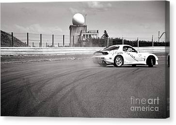 Airfield Drifting Canvas Print by Andy Smy
